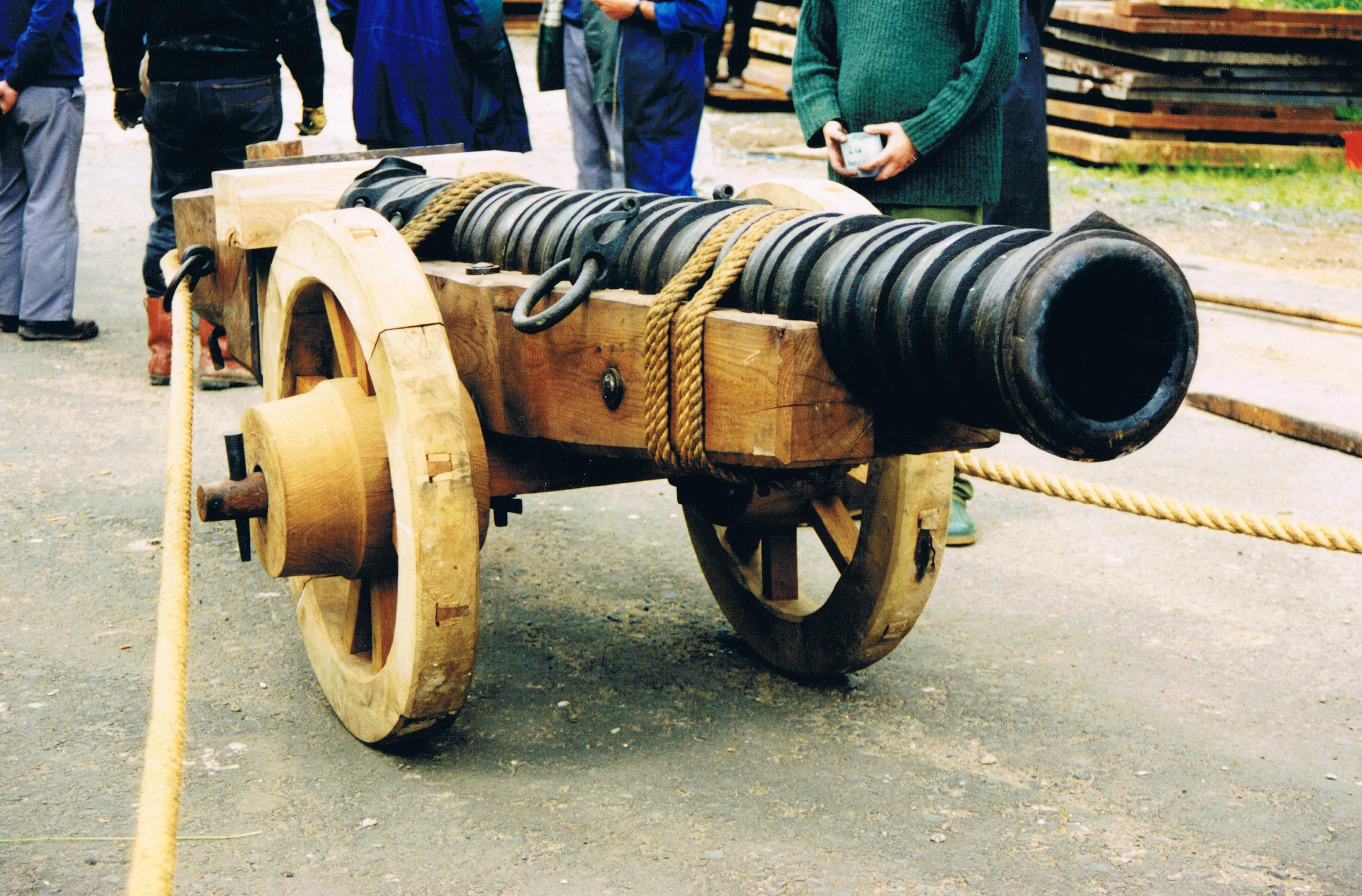 Mary Rose Cannon Reproduction
