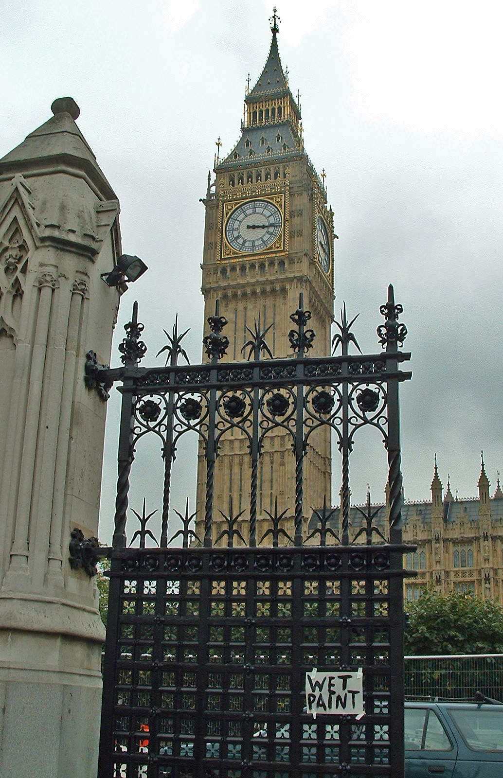 The Houses Of Parliament Entrance Gate Repair The Real